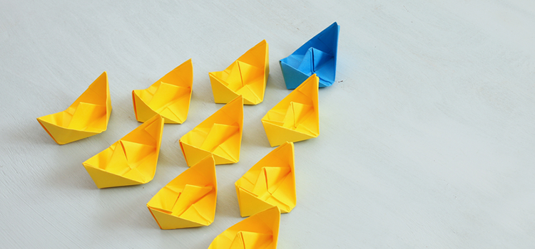 Paper Boats Thought Leader Concept